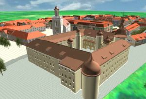 Kostrzyn fortress virtual model