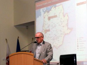 The Mayor of Kostrzyn nad Odrą, Mr dr Andrzej Kunt, took active part in the seminar