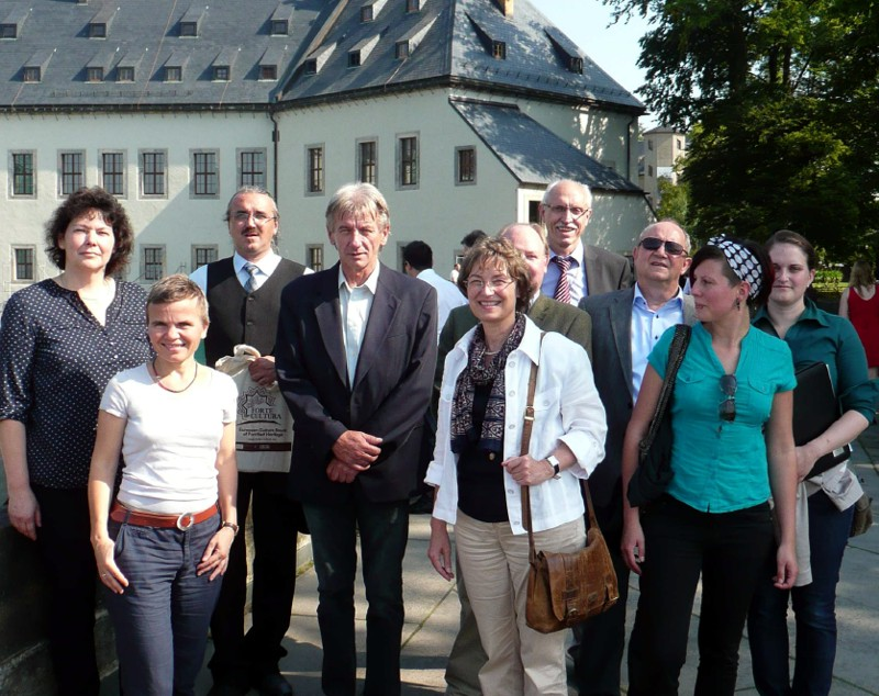 "Representatives of the fortifications along the Elbe-river Dömitz, Magdeburg, Torgau, Pirna, Josefov (CZ) and from the fortress Königstein welcomed FORTE CULTURA in the wonderful mountain fortress Königstein. They agreed on a future cooperation under the brand ""FORTE CULTURA - Elbe-Fortification"""