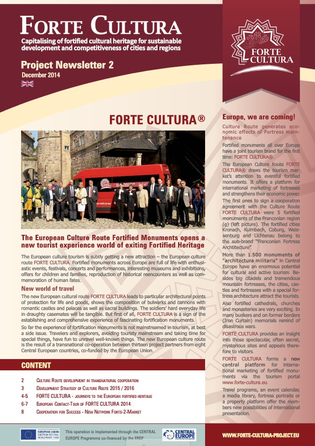 Forte Cultura newsletter No. 2 [flipping book]